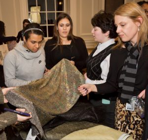 Images from FashioNext teen design program throughout CHM