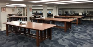Research Center tables at CHM