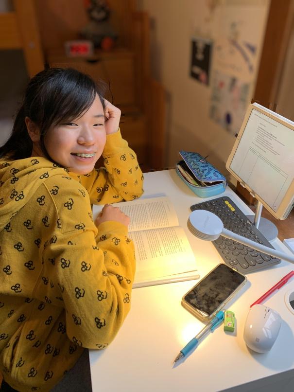 a portrait of Hana Kim